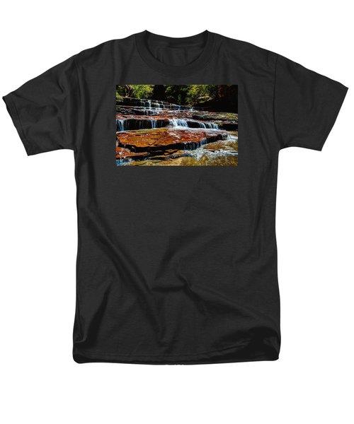Subway Falls Men's T-Shirt  (Regular Fit) by Chad Dutson