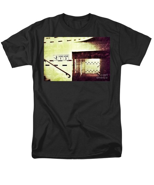 Men's T-Shirt  (Regular Fit) featuring the photograph Subway  by Nick  Biemans