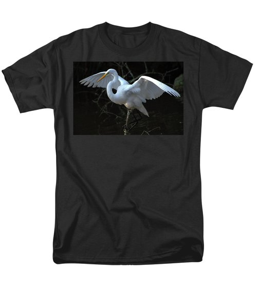 Men's T-Shirt  (Regular Fit) featuring the photograph Successful Hunt by Charlotte Schafer