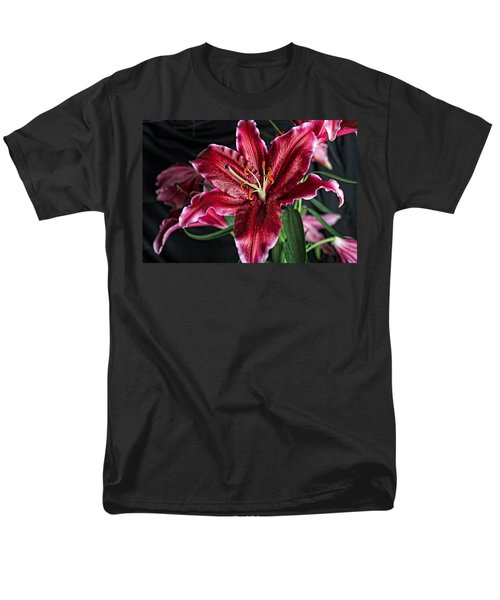Sumatran Lily Men's T-Shirt  (Regular Fit) by Dave Files