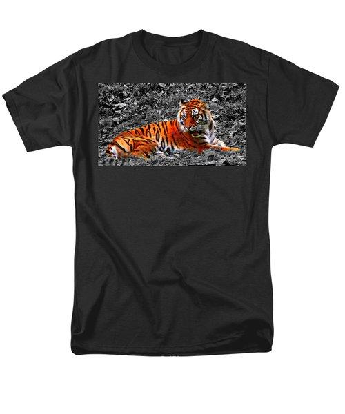 Men's T-Shirt  (Regular Fit) featuring the photograph Sumatran Tiger by Davandra Cribbie