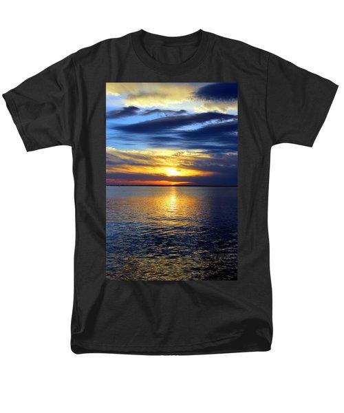 Sun Down South Men's T-Shirt  (Regular Fit) by Faith Williams
