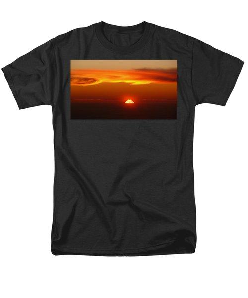 Sun Fire Men's T-Shirt  (Regular Fit) by Evelyn Tambour