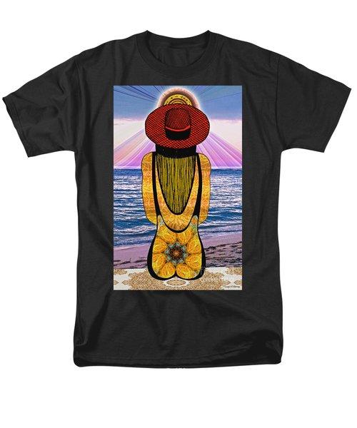 Sun Girl's Back Men's T-Shirt  (Regular Fit) by Joseph J Stevens
