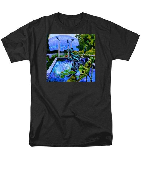 Sun Glitter Mermaid At Missouri Botanical Garden Men's T-Shirt  (Regular Fit)