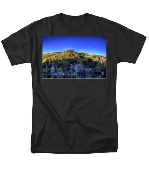 Men's T-Shirt  (Regular Fit) featuring the photograph Sun On Autumn Trees by Jonny D