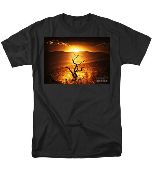 Sundown In The Mountains Men's T-Shirt  (Regular Fit) by Lydia Holly