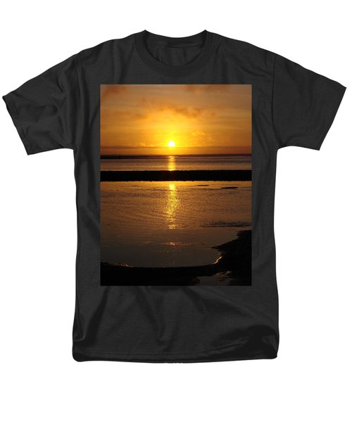 Men's T-Shirt  (Regular Fit) featuring the photograph Sunkist Sunset by Athena Mckinzie