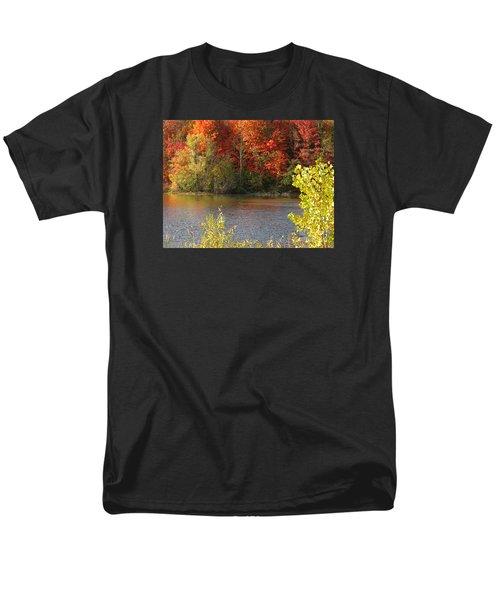 Sunlit Autumn Men's T-Shirt  (Regular Fit) by Ann Horn