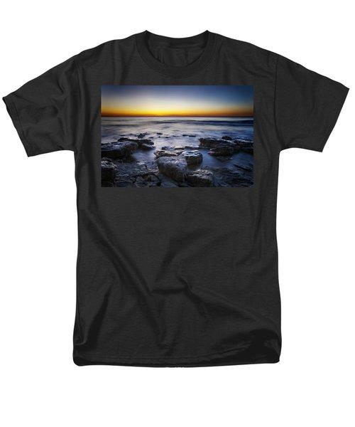 Sunrise At Cave Point Men's T-Shirt  (Regular Fit) by Scott Norris