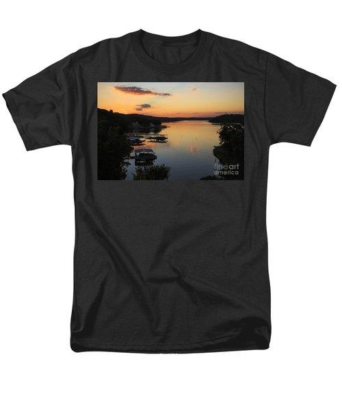 Sunrise At Lake Of The Ozarks Men's T-Shirt  (Regular Fit) by Dennis Hedberg