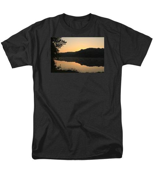 Sunrise At Rose Lake Men's T-Shirt  (Regular Fit) by Julie Andel
