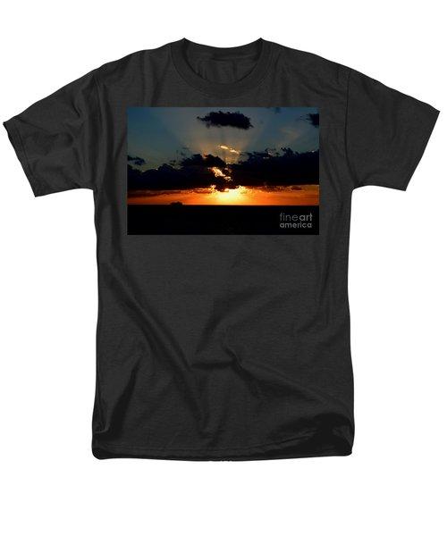Sunset Cruise Men's T-Shirt  (Regular Fit) by Gary Smith