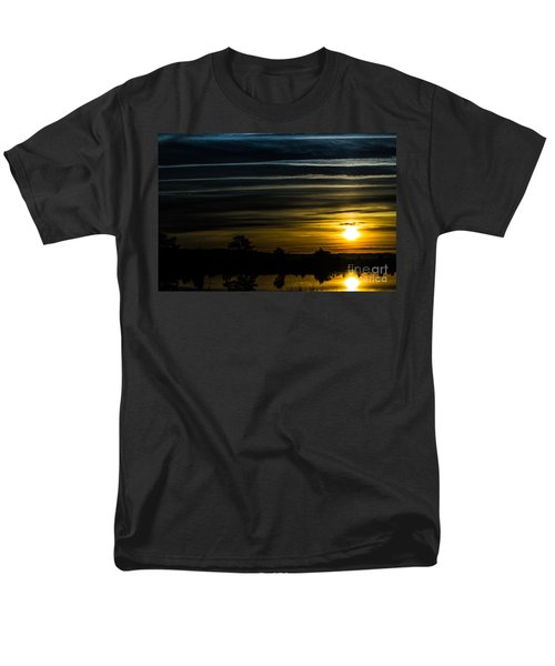 Men's T-Shirt  (Regular Fit) featuring the photograph Sunrise In Virginia by Angela DeFrias