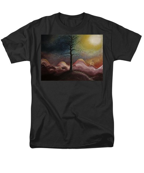 Sunrise Over The Mountains Men's T-Shirt  (Regular Fit) by Gray  Artus