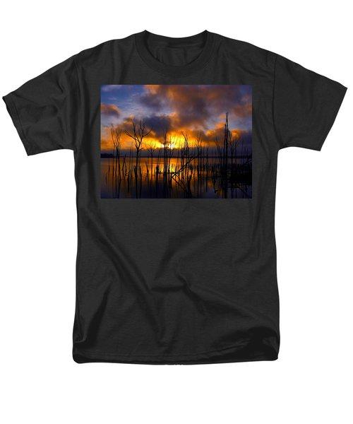 Men's T-Shirt  (Regular Fit) featuring the photograph Sunrise by Raymond Salani III