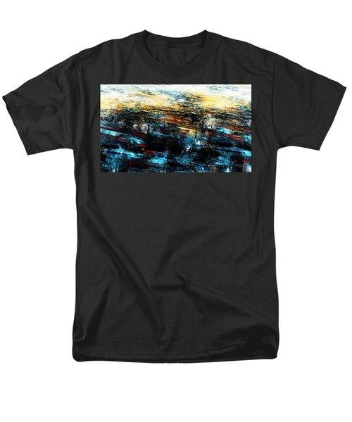 Men's T-Shirt  (Regular Fit) featuring the digital art Sunset 083014 by David Lane