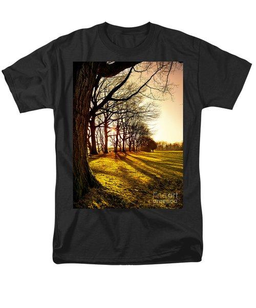 Sunset At The Park Men's T-Shirt  (Regular Fit) by Daniel Heine
