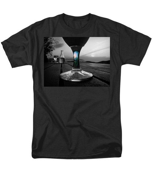 Sunset Cafe Men's T-Shirt  (Regular Fit)