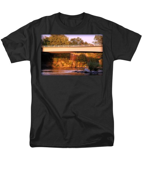 Men's T-Shirt  (Regular Fit) featuring the photograph Sunset Dip by Melanie Lankford Photography