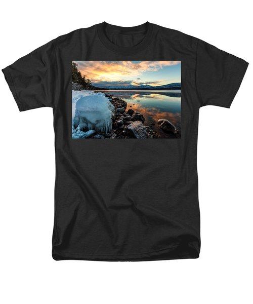 Sunset Frozen Men's T-Shirt  (Regular Fit) by Aaron Aldrich