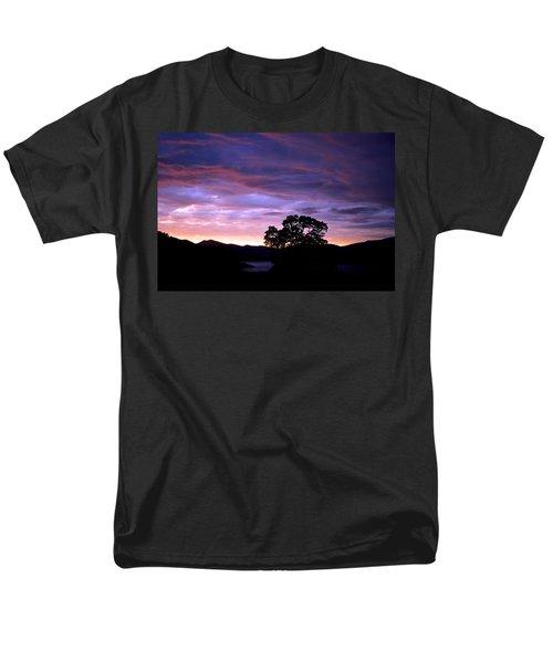 Sunset Lake Men's T-Shirt  (Regular Fit) by Matt Harang