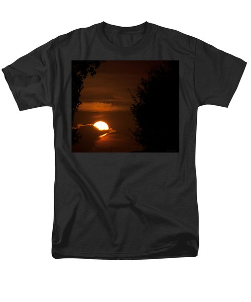 Sunset Men's T-Shirt  (Regular Fit) by Miguel Winterpacht