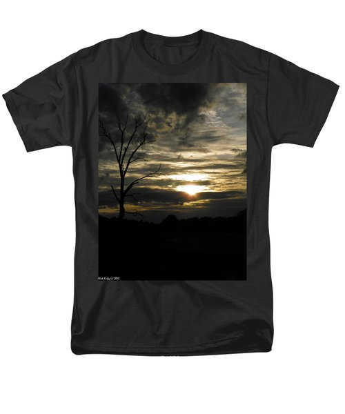 Sunset Of Life Men's T-Shirt  (Regular Fit) by Nick Kirby