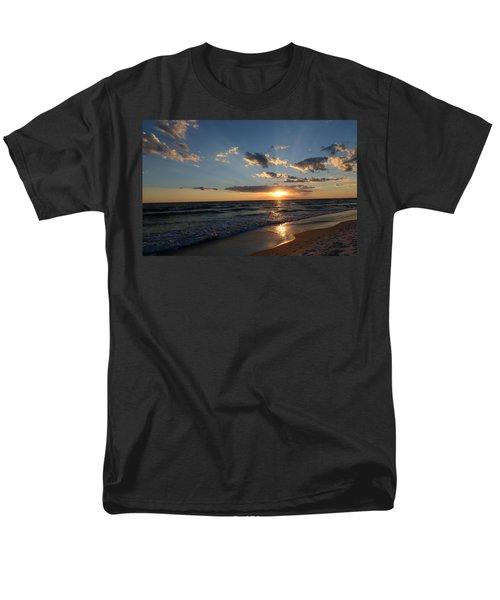 Men's T-Shirt  (Regular Fit) featuring the photograph Sunset On Alys Beach by Julia Wilcox