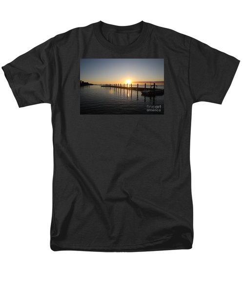 Sunset On Key Largo Men's T-Shirt  (Regular Fit) by Christiane Schulze Art And Photography