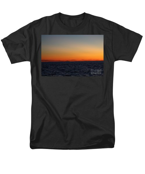 Men's T-Shirt  (Regular Fit) featuring the photograph Sunset Over Point Lookout by John Telfer