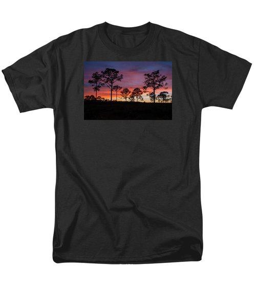 Men's T-Shirt  (Regular Fit) featuring the photograph Sunset Pines by Paul Rebmann