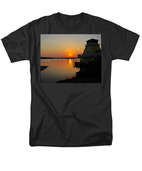 Sunset Reflections Men's T-Shirt  (Regular Fit) by Jim Brage