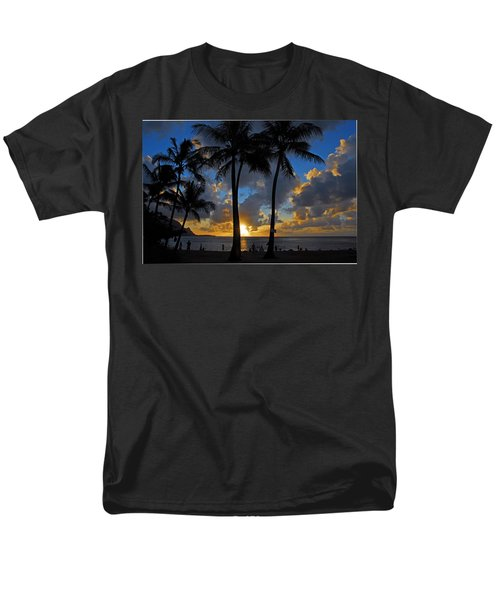 Men's T-Shirt  (Regular Fit) featuring the photograph Sunset Silhouettes by Lynn Bauer
