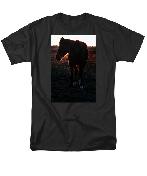 Men's T-Shirt  (Regular Fit) featuring the photograph Sunset Splendor by Robert McCubbin
