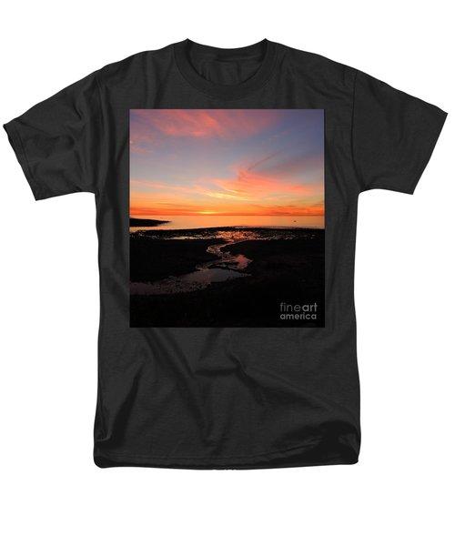 Field River, Hallett Cove Men's T-Shirt  (Regular Fit) by Linda Hollis