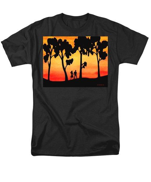 Sunset Walk Men's T-Shirt  (Regular Fit) by Sophia Schmierer