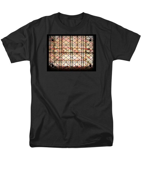 Men's T-Shirt  (Regular Fit) featuring the photograph Sunset Window by Paula Ayers