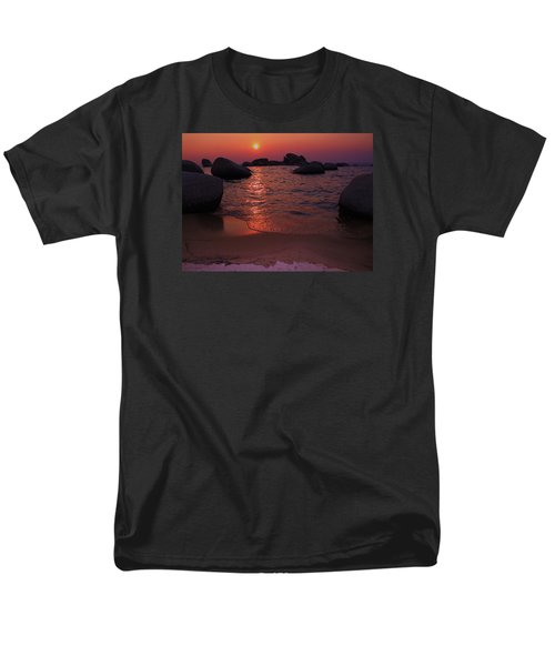 Men's T-Shirt  (Regular Fit) featuring the photograph Sunset With A Whale by Sean Sarsfield