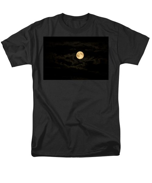 Super Moon Men's T-Shirt  (Regular Fit) by Spikey Mouse Photography