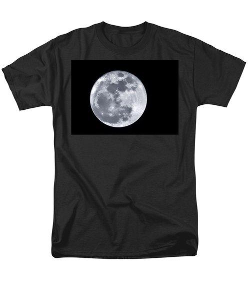 Super Moon Over Arizona  Men's T-Shirt  (Regular Fit) by Saija  Lehtonen