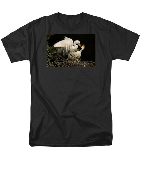 Men's T-Shirt  (Regular Fit) featuring the photograph Suppertime by Priscilla Burgers