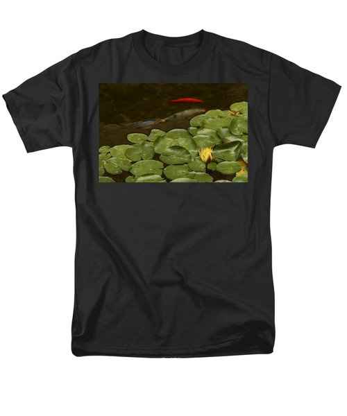 Men's T-Shirt  (Regular Fit) featuring the photograph Surface Tension by Michael Gordon