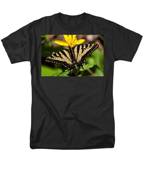 Swallowtail Butterfly Men's T-Shirt  (Regular Fit) by Jack Bell