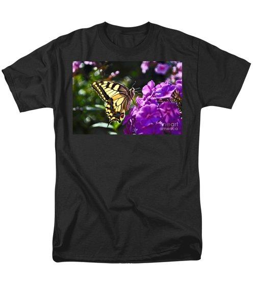 Swallowtail On A Flower Men's T-Shirt  (Regular Fit) by Maja Sokolowska