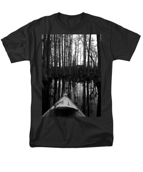Swamp Boat Men's T-Shirt  (Regular Fit)