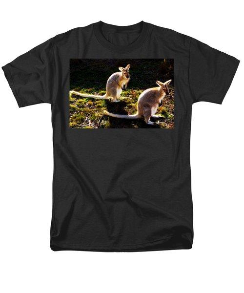 Swamp Wallabies Men's T-Shirt  (Regular Fit) by Miroslava Jurcik