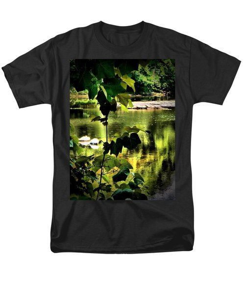 Swan Dive Men's T-Shirt  (Regular Fit) by Robert McCubbin