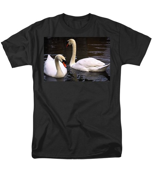 Men's T-Shirt  (Regular Fit) featuring the photograph Swan Two by Elf Evans