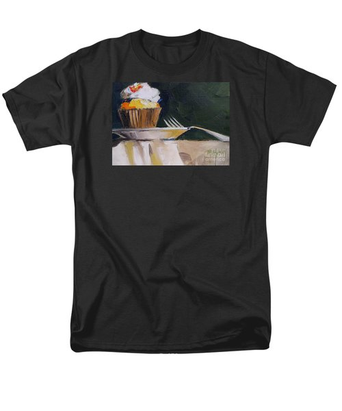 Sweet Cupcake Men's T-Shirt  (Regular Fit) by Mary Hubley